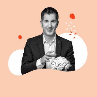 """#109 Neurobiologe Marcus Täuber: """"Wie ich mein Leben durch bewusstes Denken verbessern kann."""""""