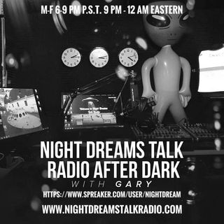 NIGHT DREAMS TALK RADIO AFTER DARK  PROMO