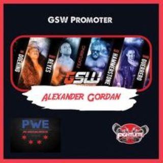 Pro Wrestling Enforcer Podcast with Global Syndicate Wrestling Promoter Alexander Gordon