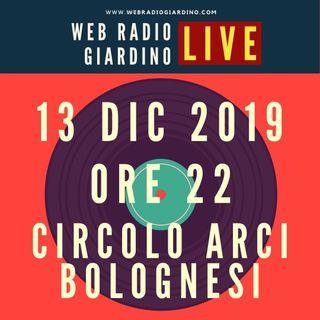 WRG LIVE - Salotto al Circolo Arci Bolognesi