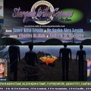Charles Rak & Andrew Basiago~Allagash Abduction~07/30/19~Janet & Dr Sasha Lessin