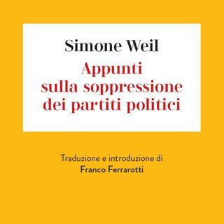 """Franco Ferrarotti """"Appunti sulla soppressione dei partiti politici"""""""