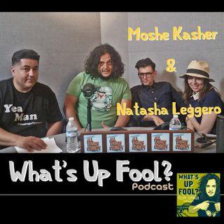 Ep 158 - Moshe Kasher & Natasha Leggero