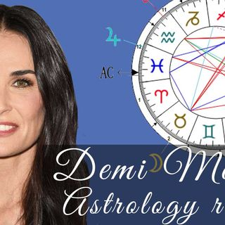 Demi Moore's Astrological Profile – What Her Chart, Palms and Numbers Say