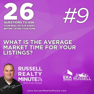 What is the average market time for your listings?