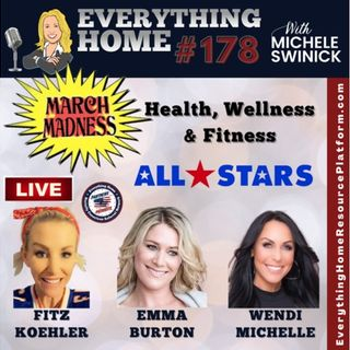 178 LIVE: MARCH MASKLESS MADNESS - Health, Wellness & Fitness - All Star Team