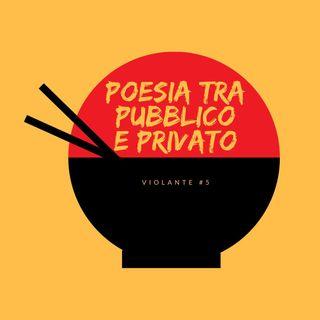 Poesia tra pubblico e privato.