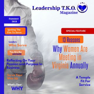 The Outline (Plus....the Leadership TKO magazine Summer 2018 Launch) | Lakeisha McKnight