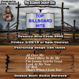 Billboard Top Country Music Hits of 2002 3-29-19