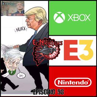 Nautilus 98: Obras Braveras, Adiós Andre Matos & E3 2019