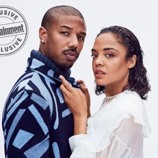 Michael B Jordan and Tessa Thompson Capture Hearts in Creed II