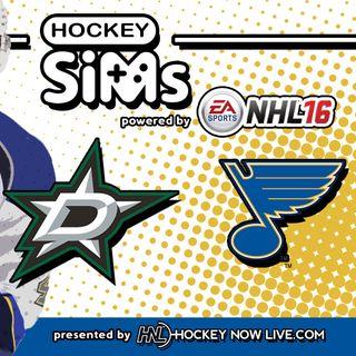 Stars vs Blues: Game 6 (NHL 16 Hockey Sims)