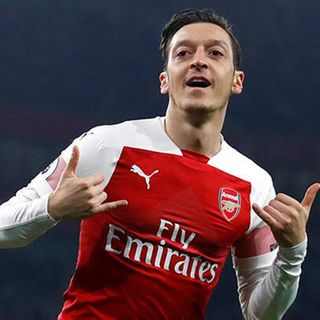 Joy And Appreciation Of Mesut Ozil For His Time At Arsenal