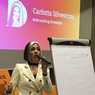 066 Intervista a Carlotta Silvestrini - Rebranding e narrazione