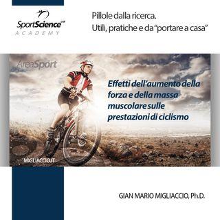 La forza nel ciclismo