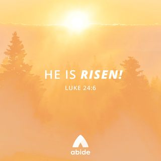 Passion Week: He Is Risen