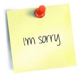 Focus On... Apologising