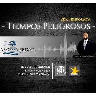 Tiempos Peligrosos III, pastor Fernando Montt.