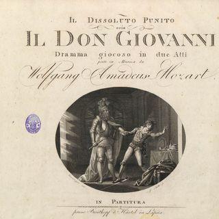 """La Domenica di Ameria Radio del 24 ottobre 2021 ore 18 - W. A. Mozart """"Don Giovanni"""" pagine scelte"""