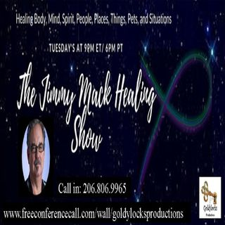 The Jimmy Mack Healing Show ~ Special Guest: Melissa Parks ~ 12Nov2019