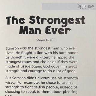 Episode 12 ~THE STRONGEST MAN EVER