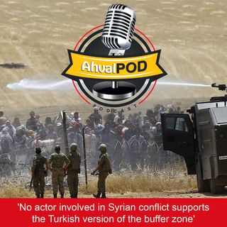 'No actor involved in Syrian conflict supports the Turkish version of the buffer zone'