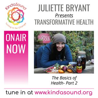 The Basics of Health, Part 2 (Transformative Health with Juliette Bryant)