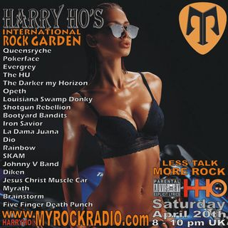 Harry Ho's intern. Rock Garden 20.04.2019