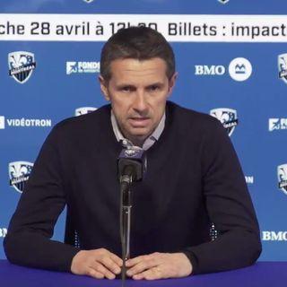 Nouvelles - Rémi Garde après la 1re victoire de la saison au Stade Saputo