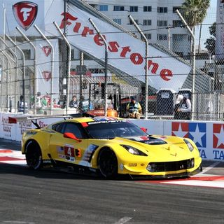 BUBBA Burger Sports Car Grand Prix At Long Beach With Five-Time Class Winner Oliver Gavin