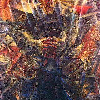 Plastica vorticosa del movimento in Boccioni (Quarta Parte) - Guerra all'Arte #18