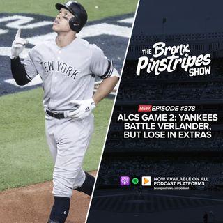 378: ALCS Game 2: Yankees battle Verlander, but lose in extras