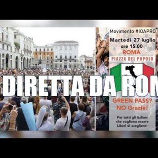 In diretta da Roma - In piazza contro la dittatura