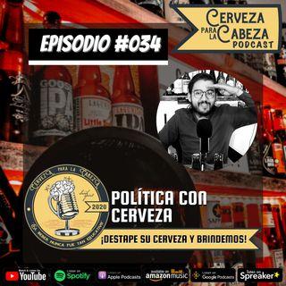 """Episodio 034, """"Política con cerveza"""""""