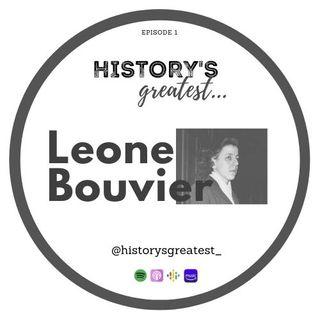 Leone Bouvier. A crime of passion.