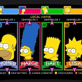 """TVPT - """"The Simpsons"""" arcade play through commentary"""