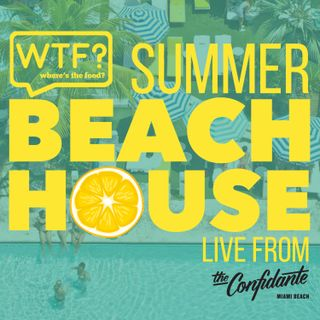 WTF? - Where's the Food Summer Beach House Trailer