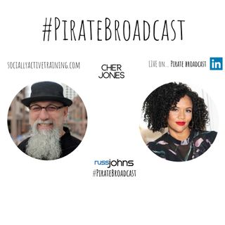 Catch Cher Jones on the PirateBroadcast