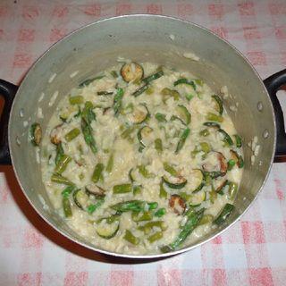 Risotto Con Gli Asparagi E Le Zucchine