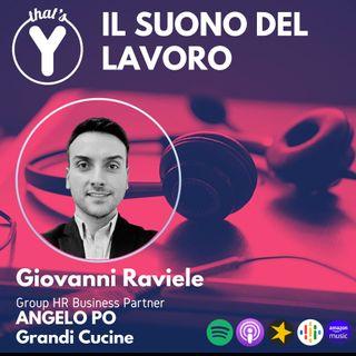 """""""Il Suono del Lavoro"""" con Giovanni Raviele ANGELO PO Grandi Cucine"""
