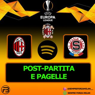 MILAN-SPARTA PRAGA 3-0 | PAGELLE e POST PARTITA