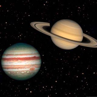 Jupiter & Saturn God & Satan