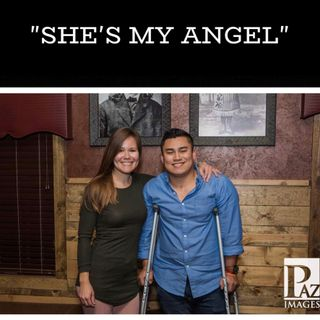 She's my Angel.  The story of Sam Keomanivane and Kimberly Vander Ven.