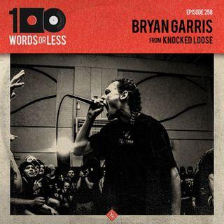 Bryan Garris from Knocked Loose