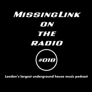 MissingLink on the radio #018