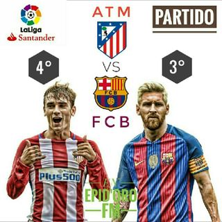 Atlético De Madrid Vs FC Barcelona 2a Parte