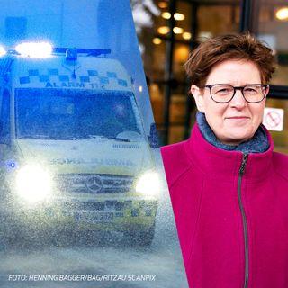 Fokus.. på ambulancekørsel