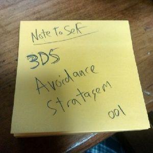 NTSNP 001 - 3DS Avoidance Stratagem