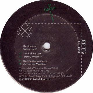 Green Velvet - Destination Unknown