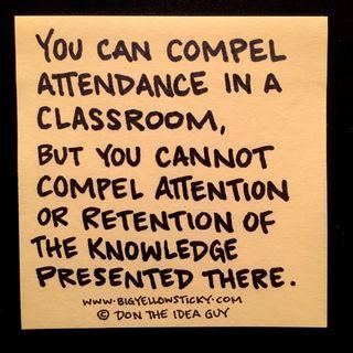 Attendance vs Attention : BYS 247